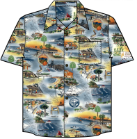 Orange County Hawaiian Shirt