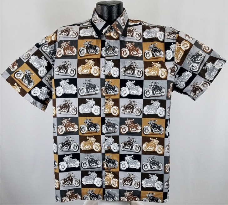 Vintage Motorcycle Hawaiian shirt