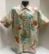 Bark Cloth Hawaiian Shirts