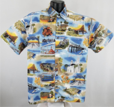 California hawaiian shirts