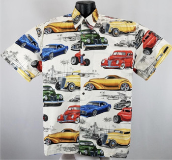 Hot Rods , Car, Automotive Hawaiian Shirts