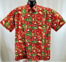 Christmas and Halloween Hawaiian shirts