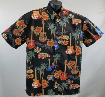 Guitar Hawaiian Shirts, Music, Novelty, and Seasonal   Hawaiian shirts