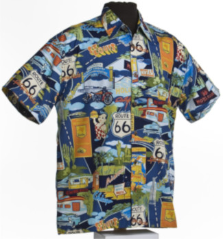 Mother Road Route 66 Hawaiian shirts  and t-shirts