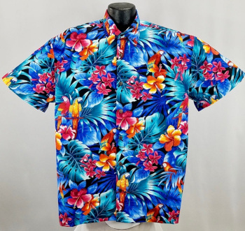 Parrot , Bird,and Parrothead  Hawaiian shirts and Aloha Shirts