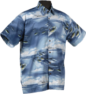 Fishing Hawaiian aloha shirts and clothing
