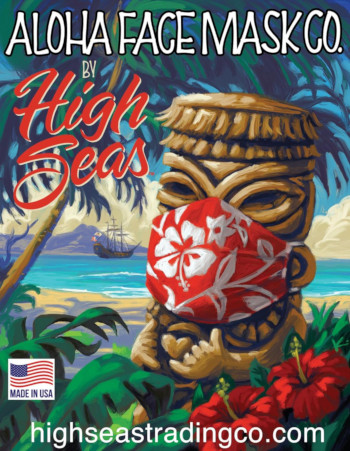 Hawaiian Print  Face masks for Men, Women, and Children