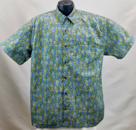 Reverse Hawaiian shirt