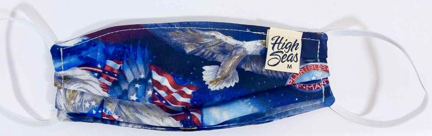 American Eagle Patriotic Face Mask