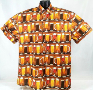 Beer Hawaiian Shirt