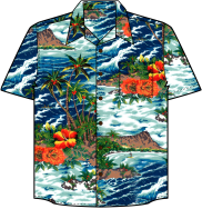 Diamondhead Hawaiian Shirt
