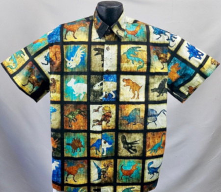 Dinosaur Hawaiian Shirt