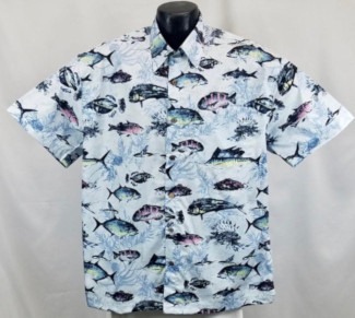 Fishing Hawaiian shirt