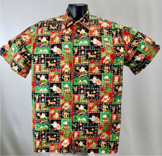 Island Christmas Hawaiian shirt