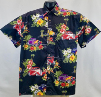 Hot Rod Hawaiian Shirt