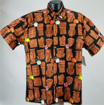Tiki Hawaiian shirt