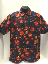 Jack-O-Lantern Halloween Hawaiian shirt
