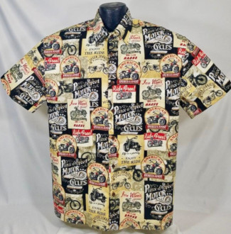 Motorcycle Hawaiian shirt