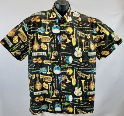Musical Instruments Hawaiian shirt