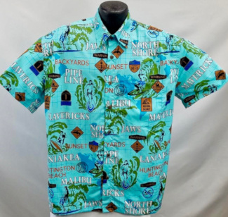 Surfing Hawaiian Shirt