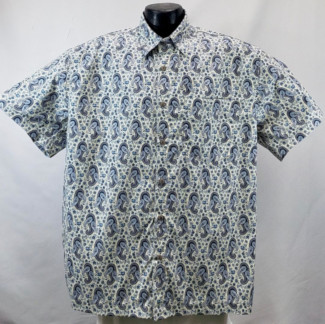 60s Retro Paisley Retro Hawaiian Shirt