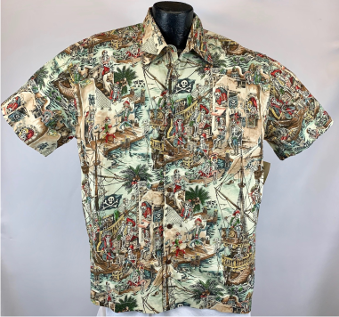 Pirate Hawaiian Aloha Shirt