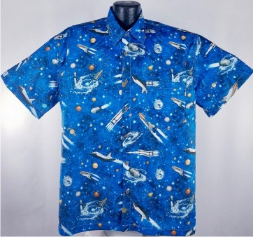 Space Shuttle Hawaiian Shirt