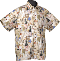 Wine Hawaiian shirt
