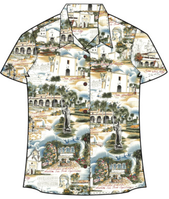 Women's California Missions Shirt