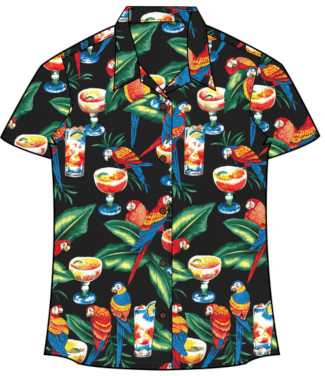 Parrot Women's Hawaiian Shirt