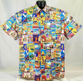 Travel Posters Hawaiian shirt