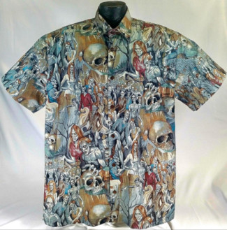 Zombie Halloween Hawaiian Shirt