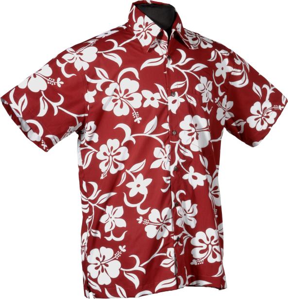 White Hibiscus Classic Aloha Hawaiian Shirt