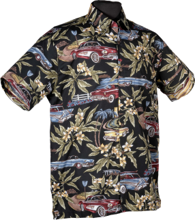 Classic Cars Hawaiian Shirt