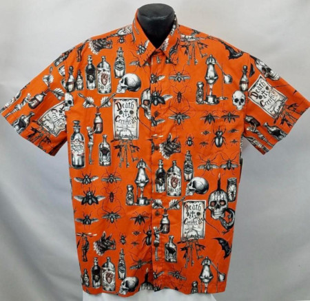Black Magic Halloween Hawaiian Shirt