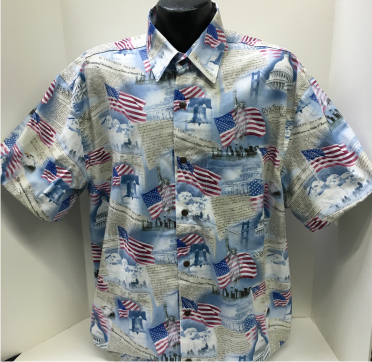 American Patriotic flag shirt