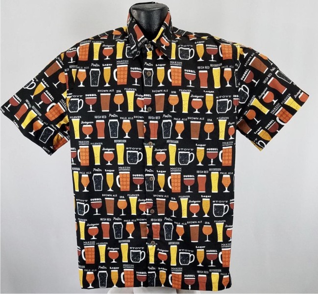Craft Beers Hawaiian Shirt