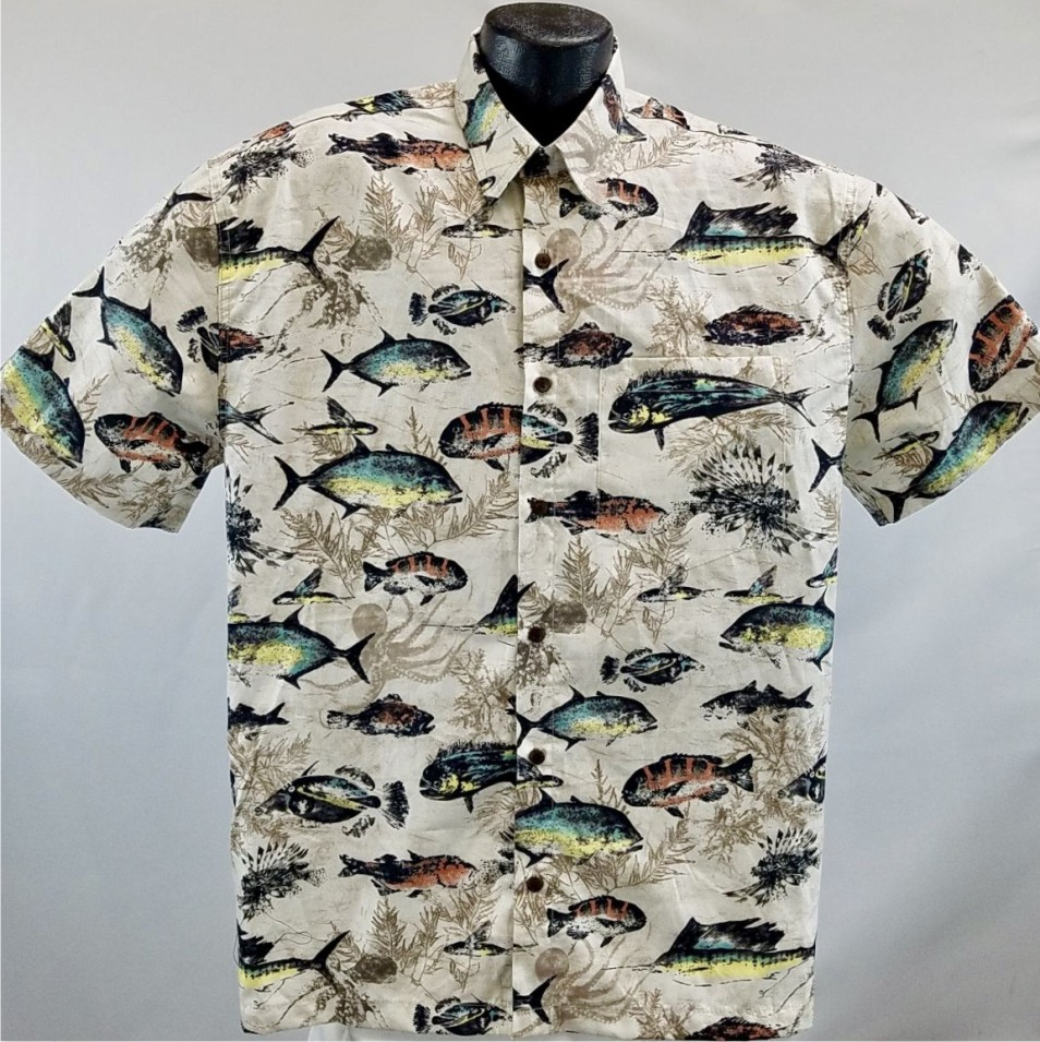 Hawaiian Fishing  shirt