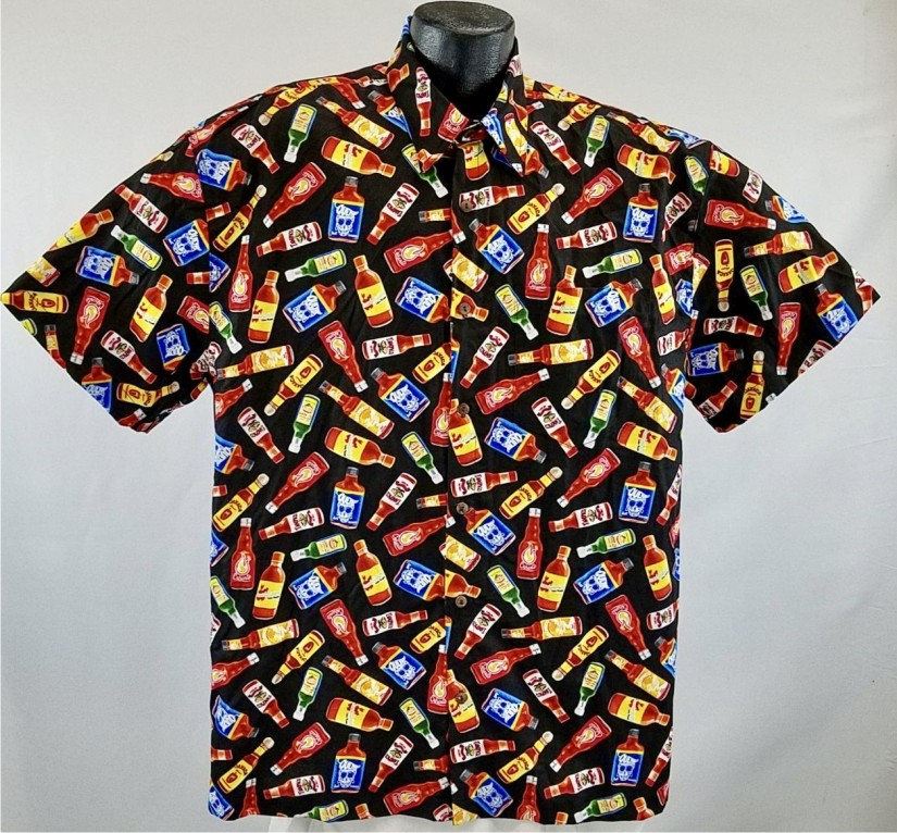 Hot Sauces Hawaiian Shirt