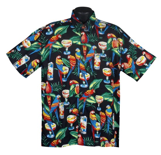 Key West- Parrothead Hawaiian shirt