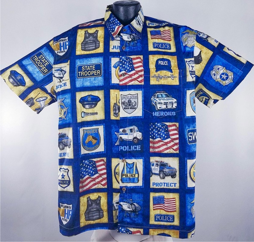 Police Hawaiian Shirt