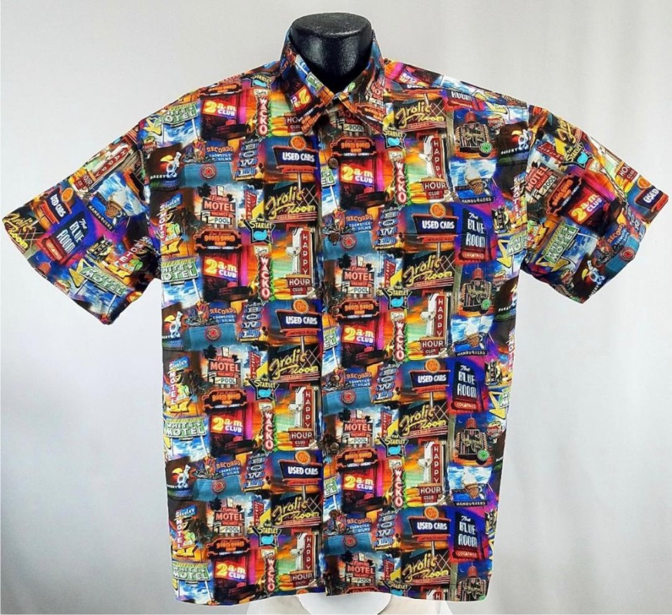 Neon Signs  Hawaiian aloha shirt