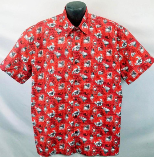 Skulls Hawaiian Shirt