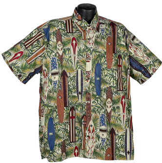 Surfboard Hawaiian Shirt