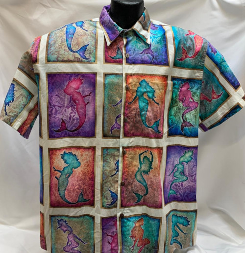 Underwater Mermaid Hawaiian Shirt