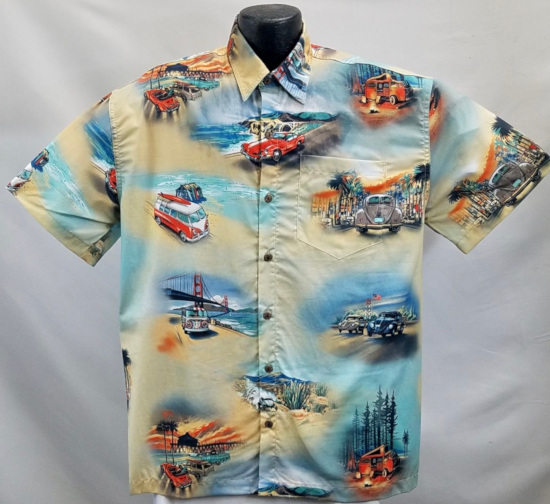 Vintage Vdub Hawaiian Shirt