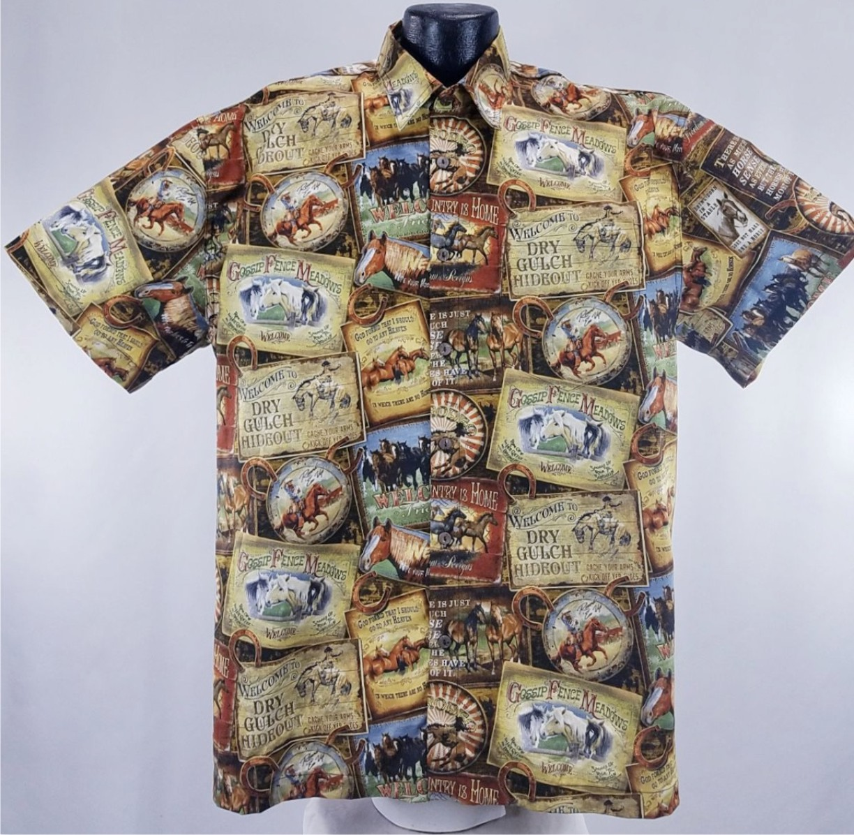 Western Hawaiian Shirt