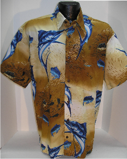 Marlin Fishing Hawaiian Shirt