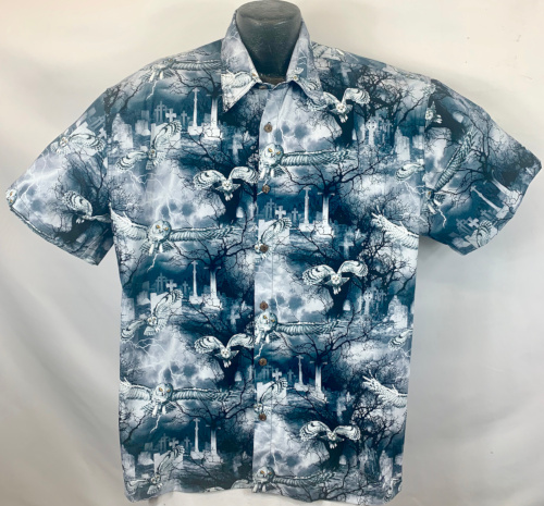 Wicked Owls Halloween Hawaiian Shirt