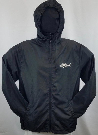 Windbreaker Black with Camouflage contrast